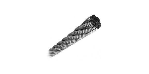 Nerūdijančio plieno trosas (lynas) 3mm